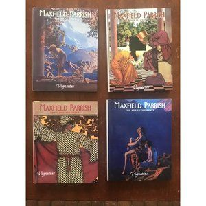MAXFIELD PARRISH Vignettes SET 4 Art BOOKS 1St Ed.